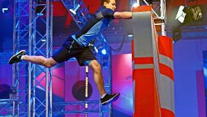 Turn-Ass   will zum Ninja Warrior werden